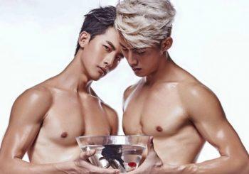 Lóa mắt với cặp mẫu nam song sinh Malaysia