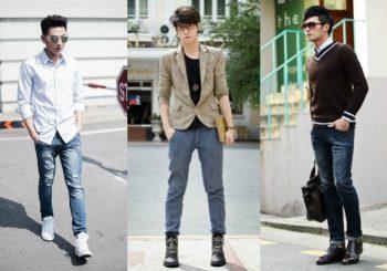 Đàn ông phong cách với quần jean nam