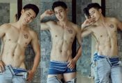 Xem trai đẹp Nguyễn Tiến Đạt sexy với quần lót