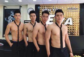 Lại sốt với dàn trai đẹp trong viện tóc ở Hà Nội