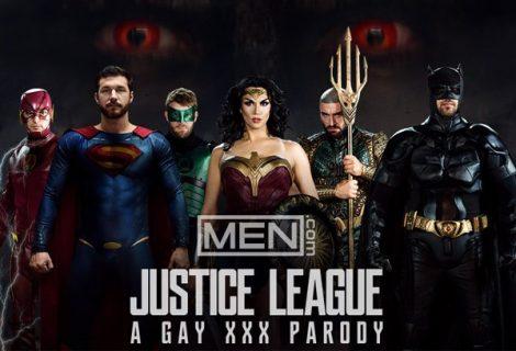 HOT với bom tấn 'Justice League' phiên bản gay porn sắp ra mắt